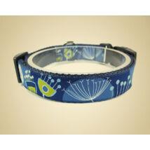 Nyakörv 25mm prémium - Mama kertje kék