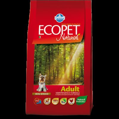 Ecopet Natural Adult Mini 2,5kg - Felnőtt kistestű fajta 2,5kg