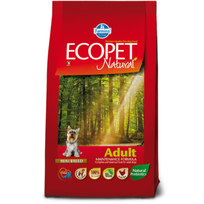 Ecopet Natural Adult Mini 14kg - Felnőtt kistestű fajta 14kg