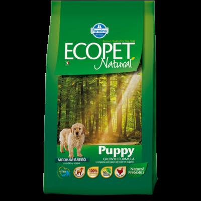 Ecopet Natural Puppy Medium 2,5kg - Kölyök közepes testű fajta 2,5kg