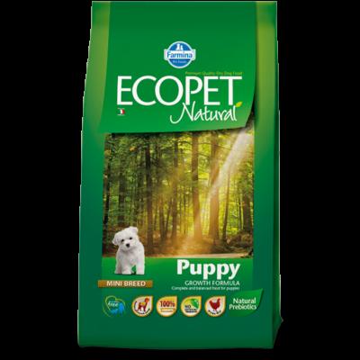 Ecopet Natural Puppy Mini 14kg - Kölyök kistestű fajta 14kg
