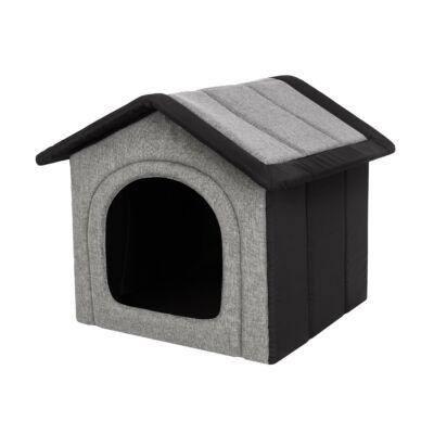 Inari szivacs kutyaház - világosszürke, fekete