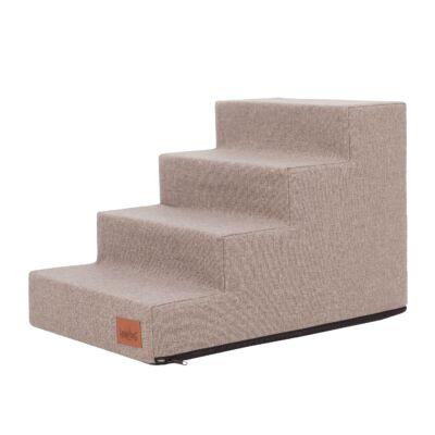 Inari lépcső - 4 fokos, 40cm magas - cappuccino