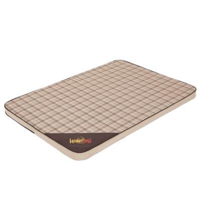 Light matrac kutyáknak - bézs, négyzet mintás