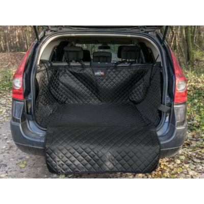 Csomagtartó védő takaró kutya szállításához - Fekete