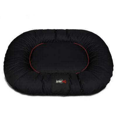 Ponton Comfort kutyaágy - fekete piros szegéllyel