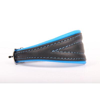 Neo soft bőr agár nyakörv - Kék